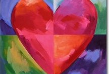 Craft Ideas - hearts / More ideas for the UFO heart quilt / by Louise King