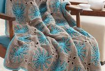 Crochet - Afghans, Blankets and Granny Squares / Afghans make such great gifts!  This board is chalk full of great afghans and granny square patterns to add a pop of color and style to your home or to give as a gift.