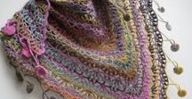 Crochet -- Scarfs/ Shawls/Tops / Nothing better than the right touch of a scarf, shawl  or  top to make an outfit and stay warm or look fabulous!
