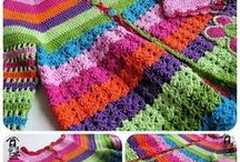 Crochet -- For Babies/ Kids / If only I had enough grand kids to make all these awesome crochet projects!  Includes patterns for clothing, hats, amigurumi and more