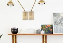 Home Styling | Shelf Styling | Bedroom Styling / All about styling around the home. Bookshelf styling, console styling, media cabinet styling, kitchen styling, entryway styling, nightstand styling, etc.