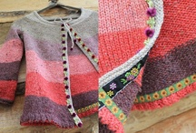 knitting and crocheting / by Marina Carelli Zschauer