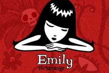 Emily the Strange / Emily is in a class all of her own and I love it! Emily ROCkS / by TeeNaa