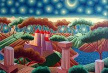 Luca Dall'olio / un pittore contemporaneo che mi fa sognare un mondo migliore
