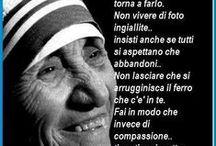 Madre Teresa di Calcutta / Un Angelo caduto dal cielo / by Maria Cricri