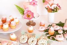 Baby Shower Inspiration / Baby shower inspiration including ideas for shower decor, party favors, baby shower games, and more.