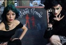 San Francisco - drag queens, Goth underground parties / by La Carmina