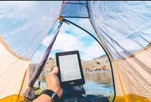 Have Kindle, Will Travel / Clocking thousands of miles of travel with thousands of miles of books.
