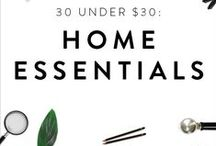 "Home Essentials / Solutions to all your home problems including closet space, kitchen tools, and more! Including PureWow's ""30 for $30"" list:  http://amzn.to/1Ljc4pM."