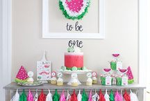 Kids Party Ideas / Fun party ideas for kids! Great decor, snacks, party favors, decorations, and activities - everything to make your kid's party perfect! Check out some theme ideas like a unicorn party, backyard barnyard bash, Minnie Mouse party and more!