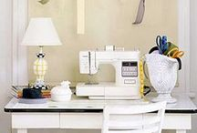 the decluttered craft room / #declutter #organize #craft #creativity #workit #DIY # / by Bneato Bar