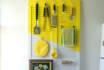 the decluttered kitchen / #declutter #organize #kitchen #eat #inspiration #DIY / by Bneato Bar