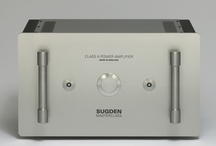 Sugden Masterclass Series / Sugden has a near 50 year pedigree.  All products are hand-made in England.  The Masterclass is the top of Sugdens product lines with gold plated circuit boards, silver soldered and solid silver internal wiring to parts of the circuit.