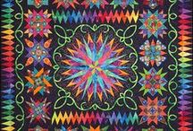 Quilts / Beautiful Colorful Quilts that Inspire Me.   / by Brenda Morris