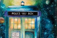 TARDIS Love / For the love of that magical blue police box and all of space and time. / by That Girl Kendall Creative