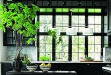 inspiration  |  indoor garden / ideas for bringing a little green into your home