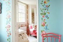 inspiration  |  walls / how to make something special of your walls