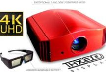 DreamVision Yunzi+ 3 4K UHD Active 3D Home Cinema Projector