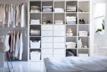 the decluttered bedroom / #decluttered #organize #bedroom #sleep #wellness #inspiration  / by Bneato Bar