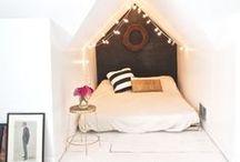 inspiration  |  bedroom / bedroom interiors