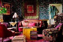 inspiration  |  bohemian / bohemian interiors