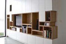 inspiration  |  shelving / bookcase library bookshelf