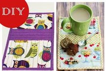 Quilts - Mug Rugs & More / Ideas for creating my own Mug Rugs / by Brenda Morris