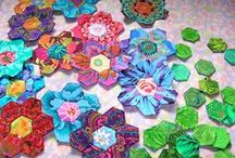 Quilts - Hexies & English Paper Piecing, Picture Piecing etc... / by Brenda Morris