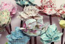 Crafts - Fabric Flowers / by Brenda Morris