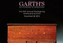 2014-11 The 54th Annual Thanksgiving Americana Auction / On Friday, November 28th beginning at 10am, Garth's Auctioneers and Appraisers will host   the 54th Annual Thanksgiving Americana Auction.