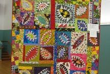 Quilts - Wonky, Whimsical and or Funky! / Just a little different / by Brenda Morris