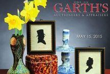 Early American Furniture and Decorative Arts 2015 / Garth's Auctions is one of the largest international auction houses in America. We accept consignments, and if you are unable to get to an auctions, we take phone and internet bids. All auctions are streamed live online. This particular auction features early American antiques, some of which are pictured below. For more information, click through one of the pins to get to our website.