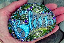 Crafts - Rock Painting & Carving / Crafting with Rocks! / by Brenda Morris