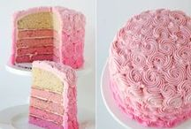 Pink Ombre - Food Ideas & Inspiration / Warm and whimsical, this charming theme of Pink Ombre is brimming with pinks in every shade. Here are some Ombre-inspiration for food & beverage that will bring the special flare to your next celebration!