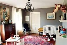 kids  |  eclectic nursery / ideas for nurseries that are a little un-ordinary