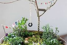 kids  |  fairy garden diy / ideas for creating a fantasy play place for your kids