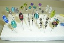 Crafts - Beads / Hat - Stick Pins to Dress up Pincushions etc... / Initial interest was to make pretty sewing pins and to decorate my pincushions.  I'm finding so much more that I won't get to specific with this board other than things to do with beads! / by Brenda Morris