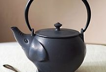 Our Exotic Cast Iron Teaware / Our colourful tetsubin teapots are made from high quality cast iron, each with an enamel interior and tea infuser. These teapots are specially designed so heat is evenly distributed throughout the pot to better extract the flavour of the tea. We have a wide selection of colours and styles for you to explore.