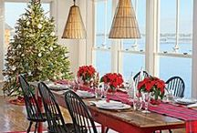 Holly Jolly Christmas / Christmas and holiday decor and entertaining.