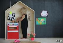 playrooms for kids / kid friendly living/play spaces / by Sarah Alsey
