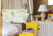bedrooms / by Natalie French Alexis