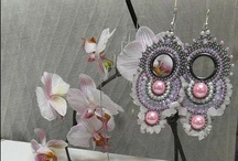 Beaded Earrings / Beaded earrings and others that could be made with beadwork / by Boryana Kolf