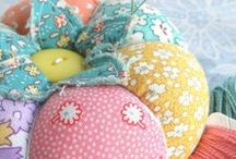 Pretty Little Pin Cushions / by Cath Edvalson