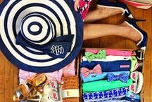Southern styles / Monograms, koozies, menswear, pastels and more. / by Caitlin Salhany