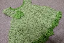 Knitted & Crocheted Kids clothes / #knitting, #crochet for #kids