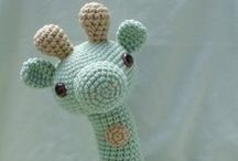 Knitted & Crocheted Amigurumi / Legetøj - Strikke/hækle