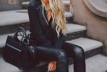 { All black } / by Caitlin Salhany