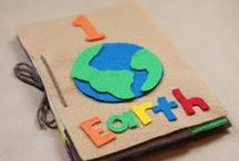 Earth Day / Earth Day as a time to celebrate our wonderful planet through crafts, exploring nature, and hands-on learning.