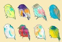 Fauna. / Birds and animals that inspire me.  / by Shelley Dietz