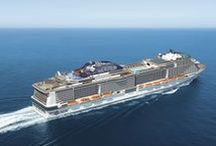 """MSC Meraviglia / MSC Cruises new ship arriving in June 2017 will offer the perfect experience at sea in every season, outstanding dining options, a two-deck """"inside promenade, a spectacular amusement park connected to an outdoor Aqua Park and a custom-made entertainment with Cirque du Soleil at Sea."""